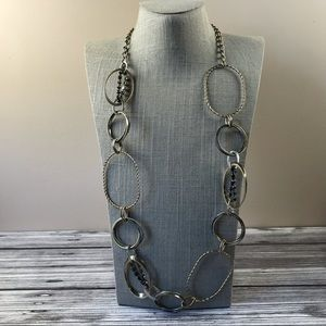 Long mixed metal Sonoma chain necklace
